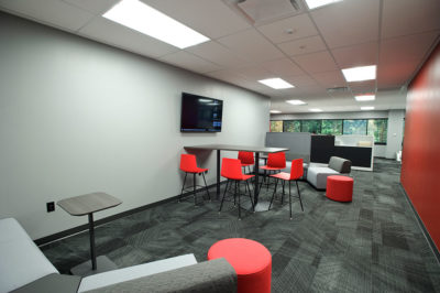Huddle Lounge with Lounge Seating and Tables