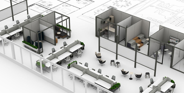 план офиса для дизайна